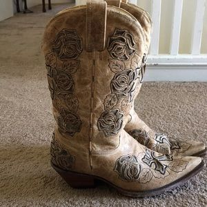 VINTAGE WESTERN CORRAL BOOTS
